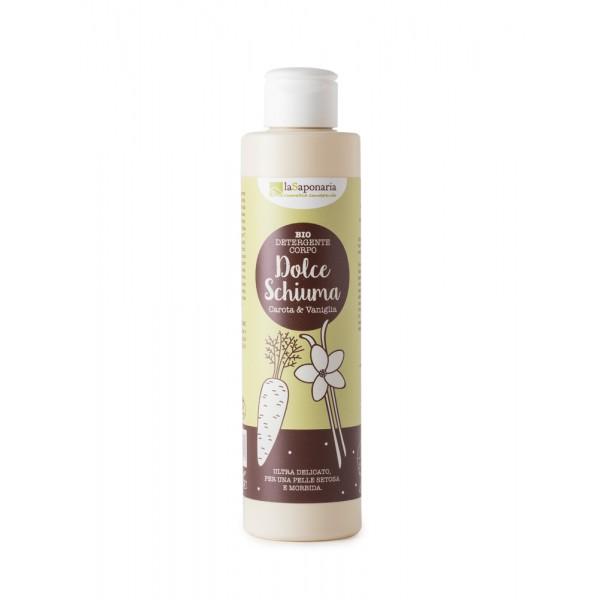 La Saponaria Delicate body cleanser - carrot & vanilla