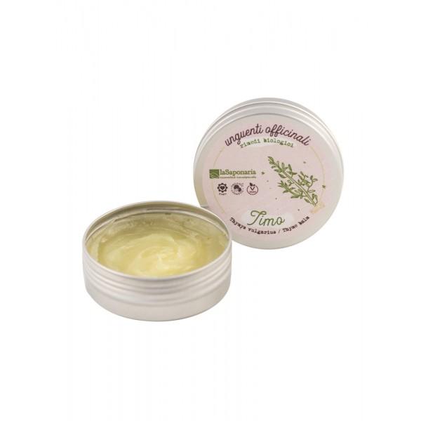La Saponaria Thyme Balm organic, vegan, balsamic, calming