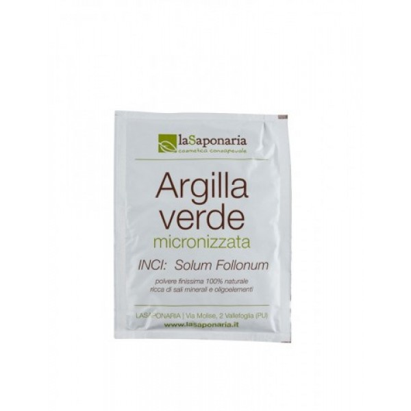 La Saponaria Argilla verde Ultrafine green klay