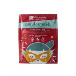 La Saponaria Wondermask  Face mask natural cellulose - purifying