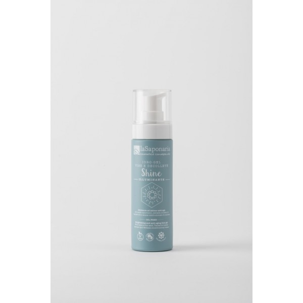 La Saponaria Brightening and anti-aging face gel SHINE