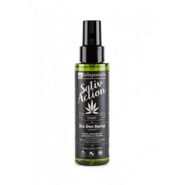 La Saponaria Sativaction Bio Deo Spray