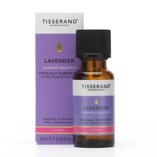 Tisserand LAVENDER (lavendel) Lavandula angustifolia Ethically Harvested 20ml