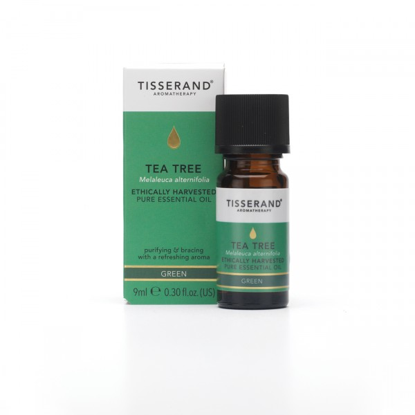 Tisserand TEA TREE Melaleuca alternifolia ethically harvested 9 ml RRP
