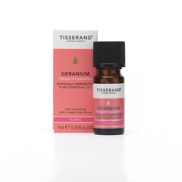 Tisserand GERANIUM Pelargonium graveolens ethically harvested 9 ml Adv Prijs €14,95