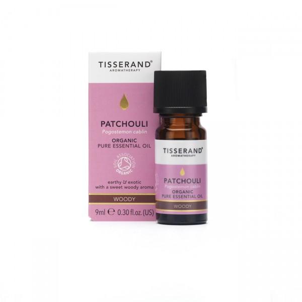 Tisserand PATCHOULI Pogostemon cablin organic 9 ml RRP €15,95