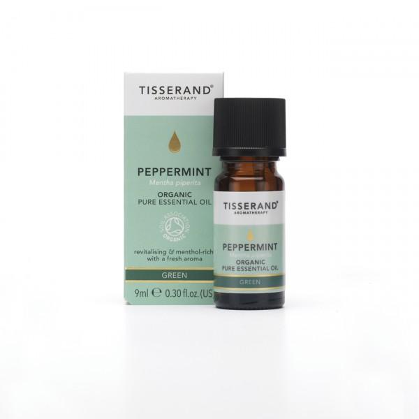 Tisserand PEPPERMINT Mentha piperita organic 9 ml
