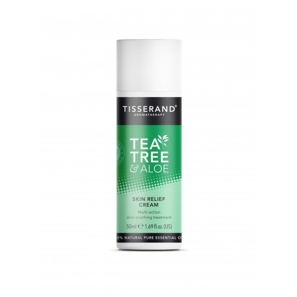 Tisserand Tea Tree and Aloe Skin Relief Cream