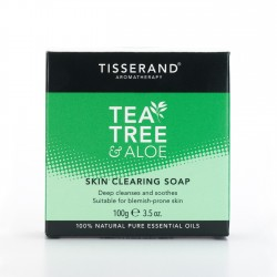 Tisserand Tea Tree and Aloe Skin Clearing Soap