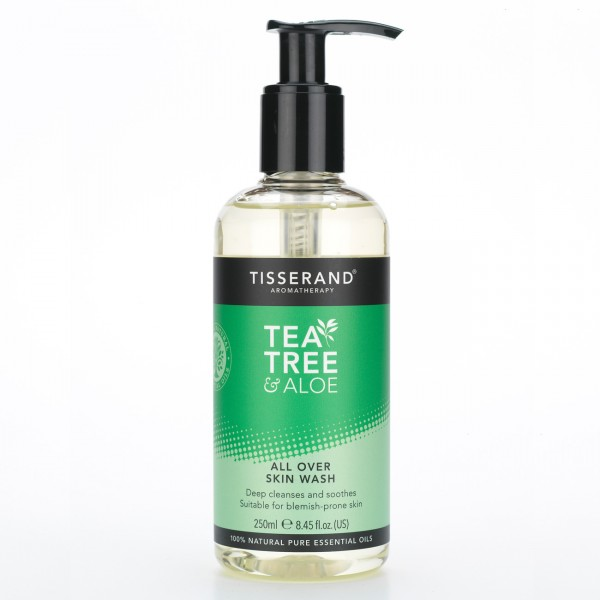 Tisserand Tea Tree and Aloe All Over Skin Wash Adv Verk Prijs €12,95
