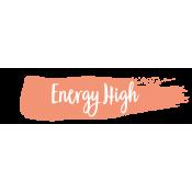 Energy High