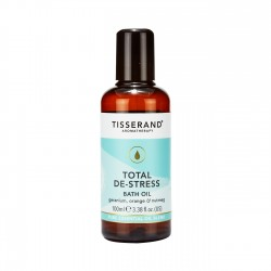 Tisserand Total De-Stress Bath Oil 100ml Adv Verk Prijs €14,95