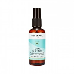 Tisserand Total De-Stress Massage & Body Oil 100ml Adv Verk Prijs €14,95