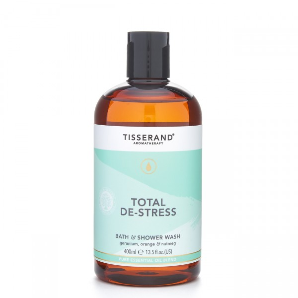 Tisserand Total De-Stress Bath Shower Wash 400ML