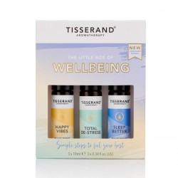 Tisserand The Little Box of Wellbeing 3x10ml